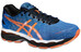 asics Gel-Nimbus 18 Shoe Men Electric Blue/Hot Orange/Black